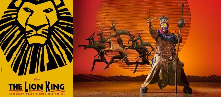 The Lion King at Majestic Theatre