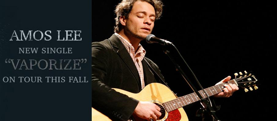 Amos Lee at The Aztec Theatre