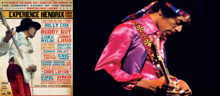 Experience Hendrix at HEB Performance Hall At Tobin Center for the Performing Arts
