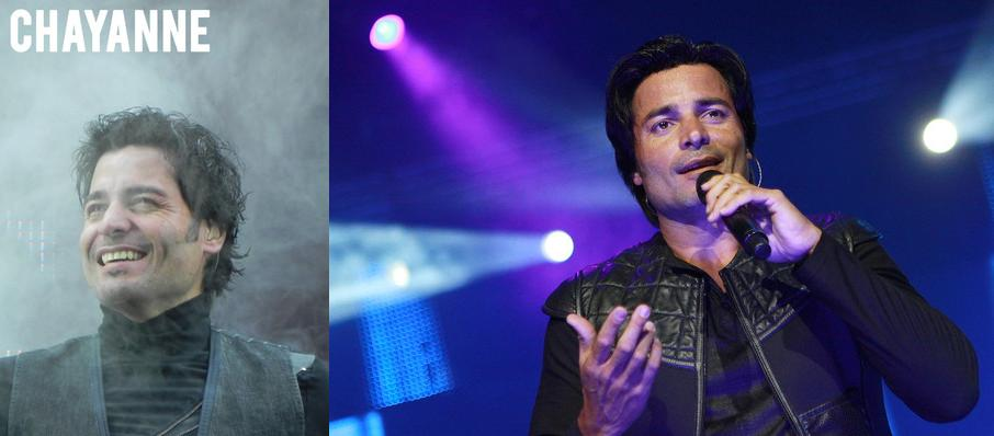 Chayanne at Freeman Coliseum