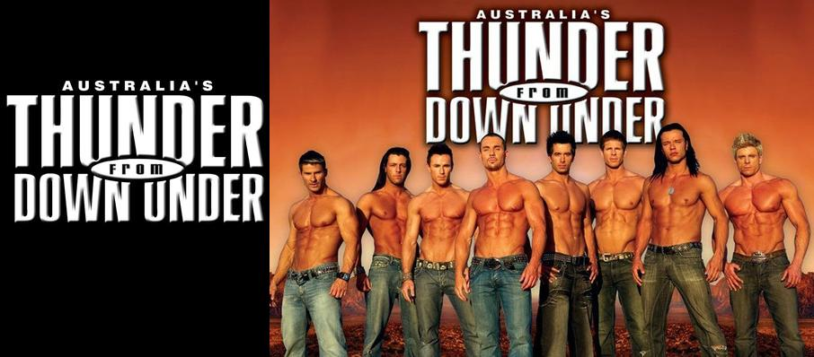 Thunder From Down Under at The Aztec Theatre