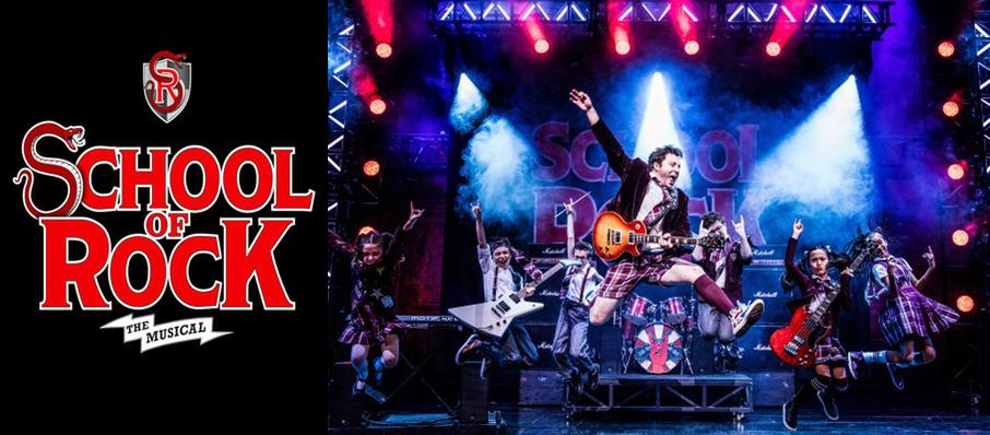 School of Rock at Majestic Theatre