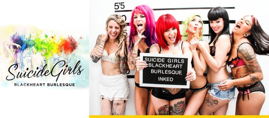 The Suicide Girls - Blackheart Burlesque at Alamo City Music Hall