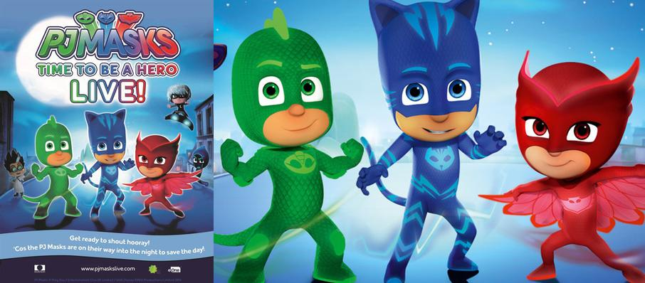 PJ Masks Live! Time To Be A Hero at Majestic Theatre
