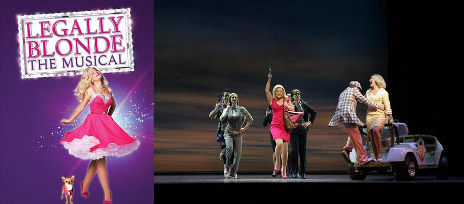 Legally Blonde The Musical at HEB Performance Hall At Tobin Center for the Performing Arts