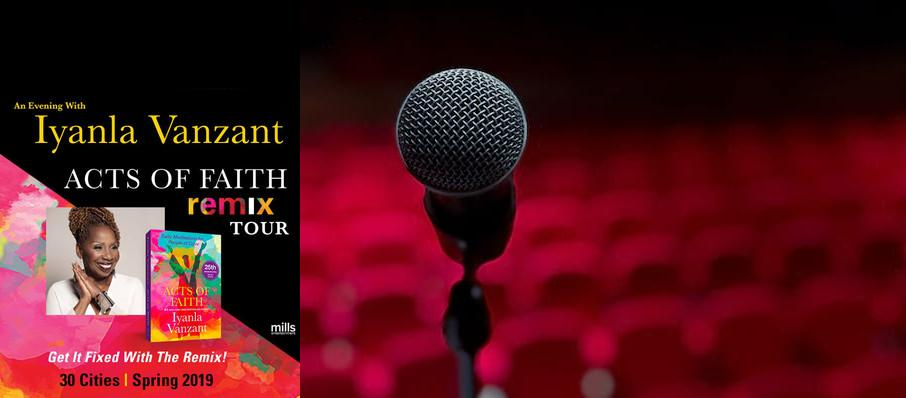Iyanla Vanzant at HEB Performance Hall At Tobin Center for the Performing Arts