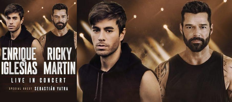 Enrique Iglesias and Ricky Martin at AT&T Center