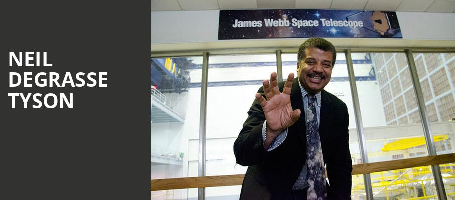 Neil DeGrasse Tyson, HEB Performance Hall At Tobin Center for the Performing Arts, San Antonio