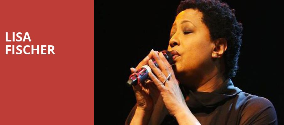 Lisa Fischer, Jo Long Theatre, San Antonio