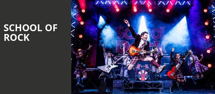School of Rock, Majestic Theatre, San Antonio