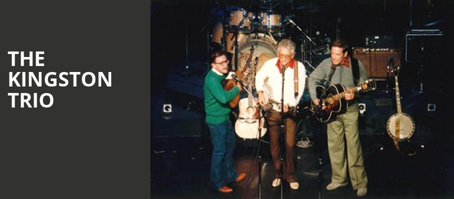 The Kingston Trio, Carlos Alvarez Studio Theater, San Antonio