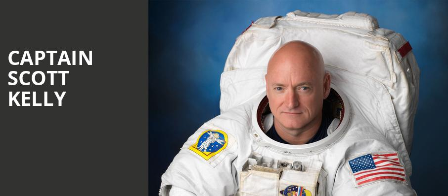 Captain Scott Kelly, HEB Performance Hall At Tobin Center for the Performing Arts, San Antonio