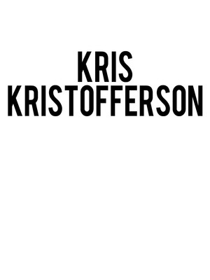 Kris Kristofferson, HEB Performance Hall At Tobin Center for the Performing Arts, San Antonio